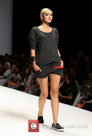 Caroline D'Amore - Day By Day Fashion Show Presented by Style Fashion Week at LA Live_Show - Los Angeles, California,...