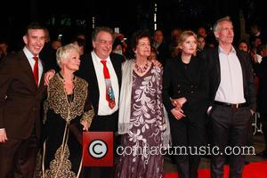 Steve Coogan, Judy Dench, Stephen Frears, Philomena Lee, Sophie Kennedy Clark and Martin Sixsmith