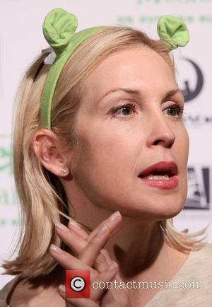 Kelly Rutherford - Release party for the Blu-ray/DVD of Shrek The Musical, held at Hudson Bond restaurant-arrivals. - New York,...