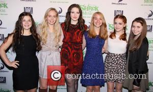 Shrek, Maya Goldman, Tessa Albertson, Marissa O'donnell, Leah Greenhaus, Rozi Baker and Rachel Resheff