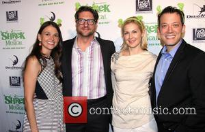 Sutton Foster, Christopher Sieber, Kelly Rutherford and John Tartaglia