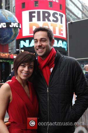 Krysta Rodriguez and Zachary Levi
