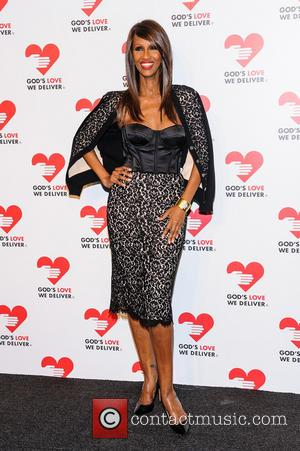 Iman - God's Love We Deliver 2013 Golden Heart Awards - New York, NY, United States - Wednesday 16th October...