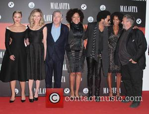 Dianna Agron, Luc Besson, Virginie Silla, Michelle Pfeiffer, Robert De Niro and Lenny Kravitz