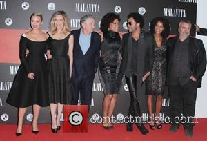 Dianna Agron, Luc Besson, Virginie Silla, Michelle Pfeiffer, Robert de Niro and Lenny Kravitz - The French premiere of 'Malavita'...