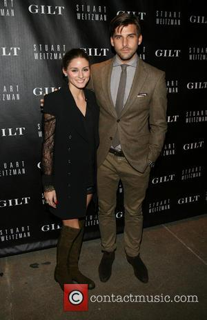 Olivia Palermo and Johannes Huebl - Stuart Weitzman & Gilt digital pop-up shop launch held at Neuhouse - New York...