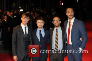 Dane Dehaan, Daniel Radcliffe, John Krokidas and Jack Huston
