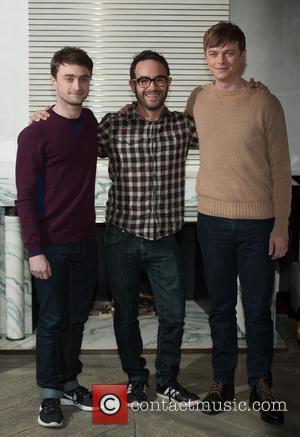 Daniel Radcliffe, John Krokidas and Dane Dehaan