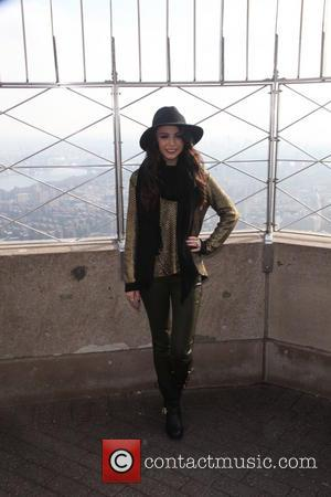 Cher Lloyd - Empire State Building To Host Global Pop Atar, Cher Lloyd at The ESB - NYC, NY, United...