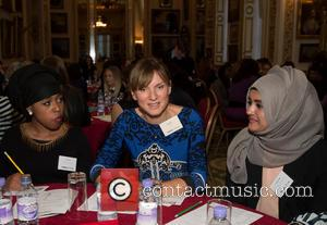 Fiona Bruce - Inspiring Women - campaign launch held at Lancaster House. - London, United Kingdom - Thursday 17th October...