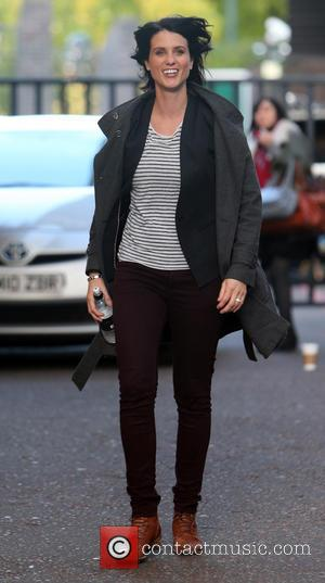 Heather Peace - Heather Peace outside the ITV studios - London, United Kingdom - Thursday 17th October 2013