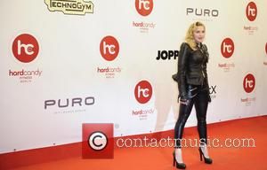 Madonna - Hard Candy Fitness Club Opening - Arrivals - Berlin, Germany - Thursday 17th October 2013