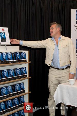 Morrissey - Morrissey promotes and signs copies of his Autobiography book - Gothenburg, Sweden - Thursday 17th October 2013