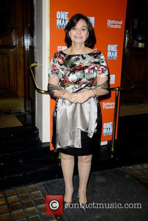 Cherie Blair - One Man, Two Guvnors press night at Theatre Royal, Haymarket - London, United Kingdom - Thursday 17th...