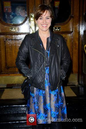 Jill Halfpenny - One Man, Two Guvnors press night at Theatre Royal, Haymarket - London, United Kingdom - Thursday 17th...