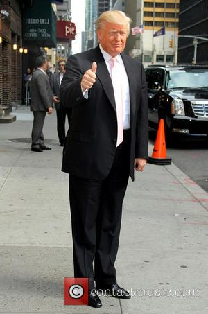 Donald Trump - Celebrities at the Ed Sullivan Theater for the the 'Late Show with David Letterman' - New York,...