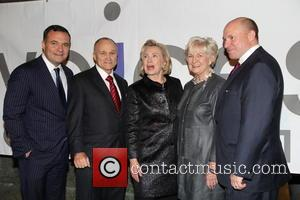 Greg Kelly, Ray Kelly, Hilary Clinton, Veronica Kelly and James Kelly