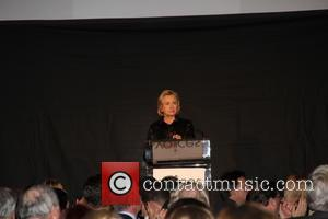 Hilary Clinton - Voice of September 11th Always Remember Gala - Inside Arrivals - New York City, NY, United States...