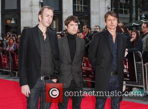 Mat Osman, Neil Codling, Brett Anderson and Suede
