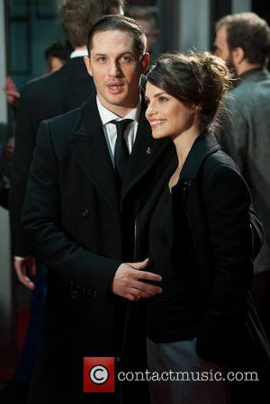 Charlotte Riley and Tom Hardy - BFI London Film Festival: 'Locke' premiere held at the Odeon West End - Arrivals...