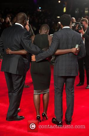 Steve Mcqueen, Lupita Nyong'o and Chiwetel Ejiofor