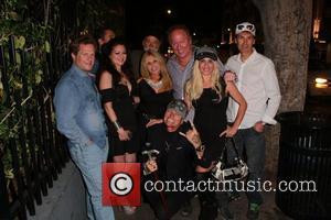 Vikki Lizzi, Pamela Bach Hasselhoff and Sabrina Parisi - Pamela Bach Hasselhoff celebrates her birthday with friends - Hollywood, CA,...