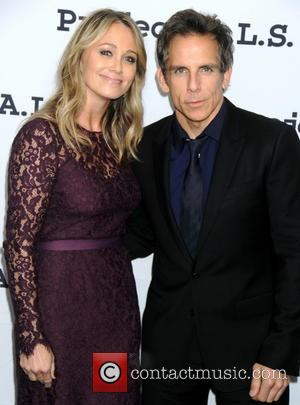 Christine Taylor and Ben Stiller - Stars turn out for the Project A.L.S.