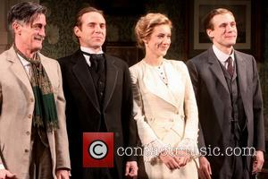 Roger Rees, Alessandro Nivola, Charlotte Parry and Zachary Booth
