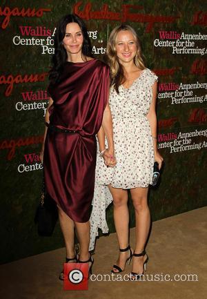 Courteney Cox and Jennifer Meyer