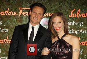 Tony Goldwyn and Liz Goldwyn