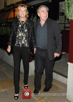 Andrew Lloyd Webber and Madeleine Gurdon - Celebrities outside Loulou's (5 Hertford Street) private members' club - London, United Kingdom...