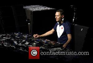 DJ Tiesto - DJ Tiesto performs a live set to a sold out crowd during the Amsterdam Dance Event -...