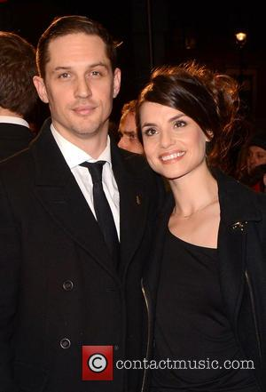 Tom Hardy , Charlotte Riley - London Film Festival screening of Locke at the Odeon West End Leicester Square at...