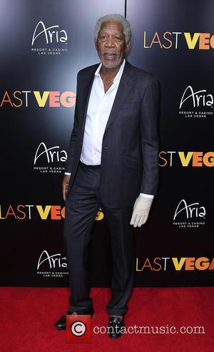 Morgan Freeman - CBS Films LAST VEGAS Special Screening After Party and Red Carpet Arrivals at Haze Nightclub at ARIA...