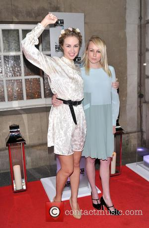 Sasha Shevchenko and Kitty Green - BFI London Film Festival Awards held at the Banqueting House - Arrivals. - London,...