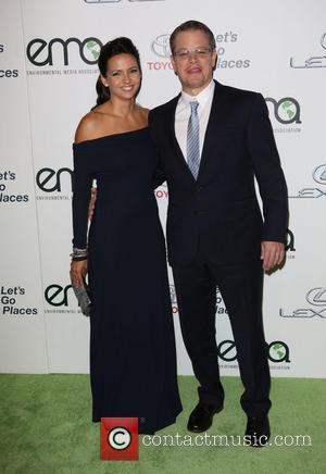 Luciana Damon and Matt Damon