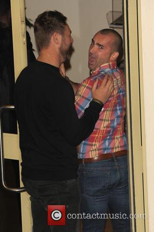 Brian Mcfadden and Louie Spence