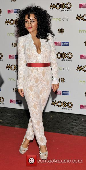 Chelsee Healey - Chelsee Healey arrives on the red carpet at the MOBO Awards 2013 - Glasgow, United Kingdom -...