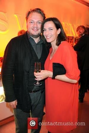 Marc Schubring and Ulrike Frank - Musical premiere of 'War Horse - Die Gefaehrten' at Theater des Westens. - Aftershowparty...