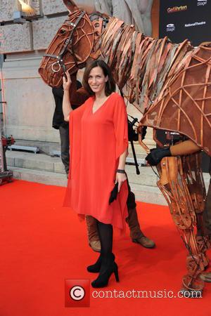Ulrike Frank - Musical premiere of 'War Horse - Die Gefaehrten' at Theater des Westens. - Red Carpet - Berlin,...