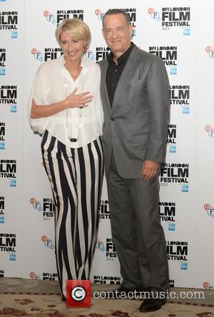 Tom Hanks and Emma Thompson - BFI London Film Festival: 'Saving Mr. Banks' photocall held at the Dorchester - London,...