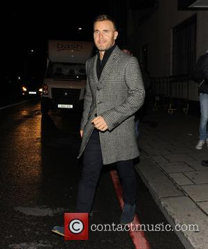 Gary Barlow - Gary Barlow with wife Dawn and Nicole Scherzinger leave a restaurant at The Dorchester hotel where they...