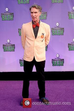 Bill Nye - Hub Network First Annual Halloween Bash at Barker Hanger in Santa Monica, CA - Santa Monica, CA,...
