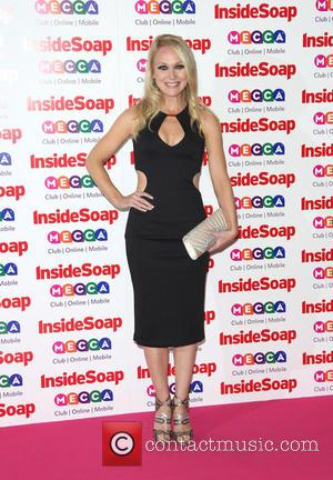 Michelle Hardwick - The Inside Soap Awards 2013 held at the Ministry of Sound - Arrivals - London, United Kingdom...