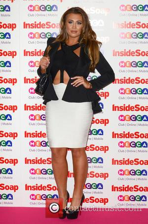 Lauren Goodger - The Inside Soap Awards 2013 held at the Ministry of Sound - Arrivals - London, United Kingdom...