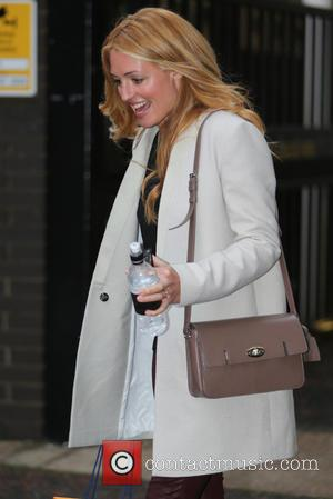 Cat Deeley - Cat Deeley outside the ITV studios - London, United Kingdom - Monday 21st October 2013