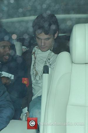 John Mayer - Katy Perry and John Mayer leave Shoreditch House in London after the pop star performed on the...