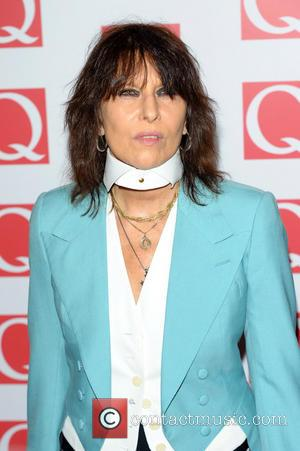 The Q Awards, Grosvenor House, Chrissie Hynde