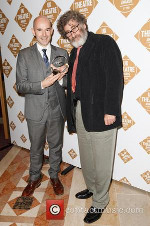 Paul Michael Glaser and Daniel Evans - Paul Michael Glaser and Daniel Evans attend 'The Theatre Awards 2013 at Guildhall...