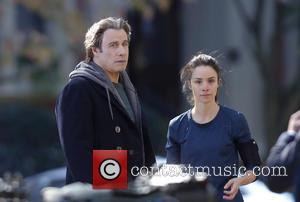 John Travolta and Abigail Spencer
